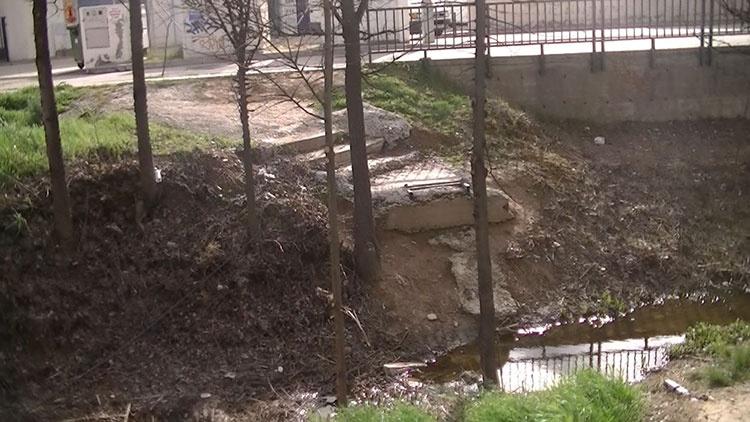 Este es el luigar donde el ayuntamiento de Cabanillas pretende poner una pasarela