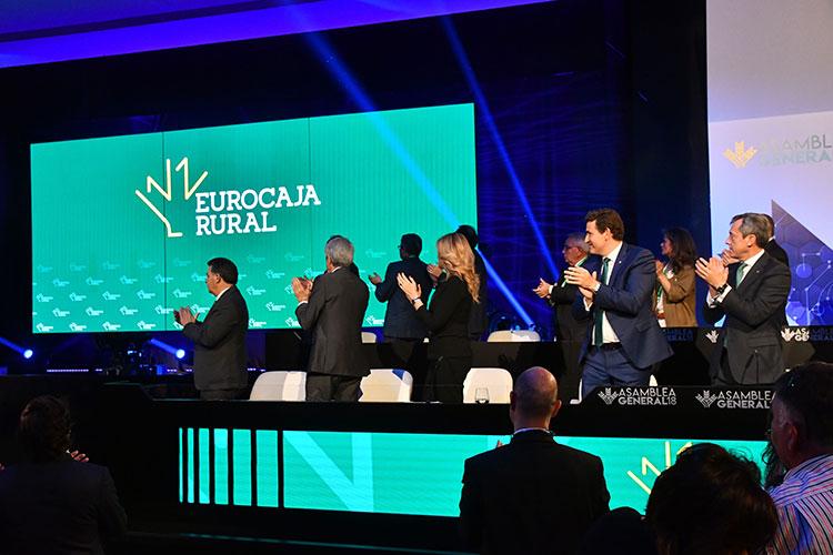 Asamblea de Caja Rural Castilla-La Mancha, quie pasa a llamarse Eurocaja Rural