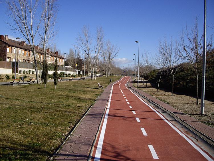 Esta noche comienzan los trabajos de ampliación del carril bici de Guadalajara