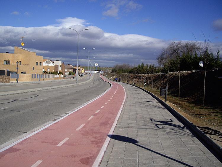 Carril bici de Guadalajara