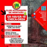 El Club Alcarreño de Montaña recorre este domingo el Camino del Cid