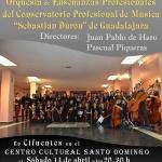 """Músicos del Conservatorio """"Sebastián Durón"""" darán un concierto en Cifuentes"""