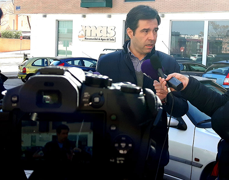 Lorenzo Robisco en rueda de prensa