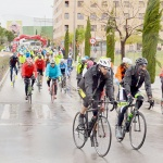 Cerca de 200 corredores participaron en la IV Marcha Cicloturista José Luis Viejo