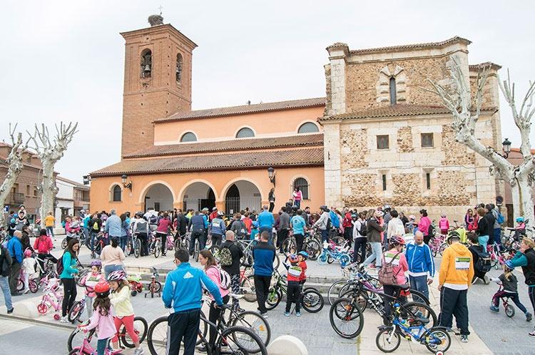 Mucha participación en el Bicicuento
