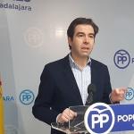 """Robisco: """"Page no hace una sola obra en Guadalajara y viene a inaugurar las que hace y paga Rajoy"""""""