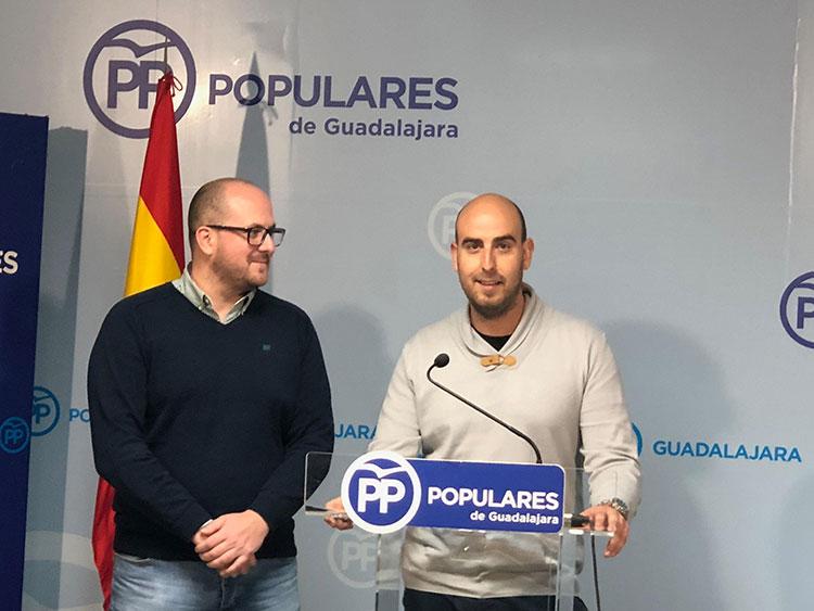Sergio Sáncjez y Lucas Castillo