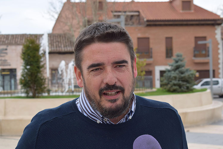 Rafael Esteban, alcalde de Marchamalo
