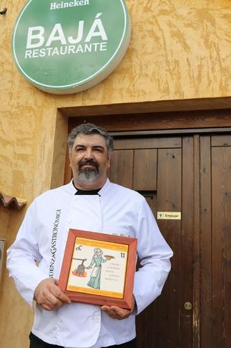 El chef seguntino Sergio Baja