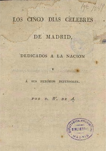 Los Cinco Días Célebres de Madrid