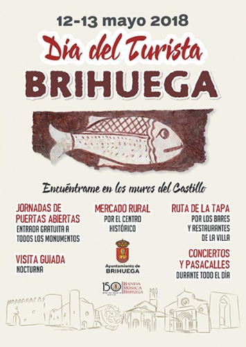 Programa de actos del Día del Turista en Brihuega
