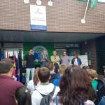 Seis centros escolares renuevan 'Bandera Verde' dentro del proyecto Ecoescuelas que promueve la Diputación