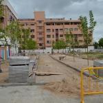 El Ayuntamiento acondiciona una nueva zona verde entre la avenida de Alcalá y la calle Rafael Alberti