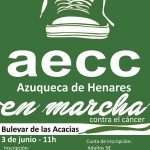 Azuqueca celebrará el 3 de junio la II carrera 'En marcha contra el cáncer'