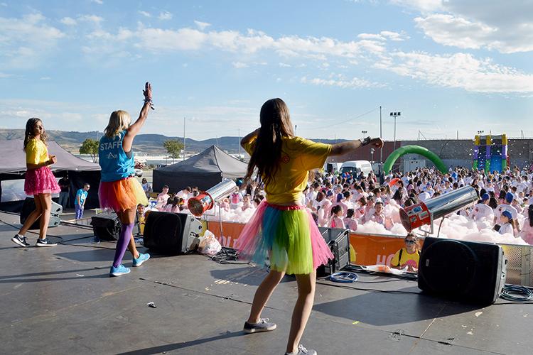 Imagen tomada durante la I Spume Run de Azuqueca, en septiembre del año pasado. Foto: Álvaro Díz Villamil/ Ayuntamiento de Azuqueca