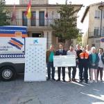 Protección Civil de Brihuega cuenta con una ambulancia de Soporte Vital Básico gracias al Ayuntamiento y la Caixa
