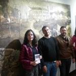 Las escritoras Laura Lara y Maria Lara en el Museo de Historia de Brihuega