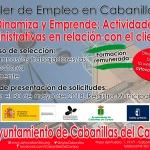 Cabanillas convoca nuevo Taller de Empleo, con 9 plazas de alumno-trabajador y puestos de director y docente