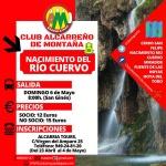 El Club Alcarreño de Montaña visita este domingo el Nacimiento del río Cuervo