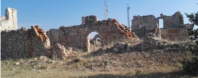 Restos del convento (Foto: Hispania Nostra)