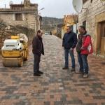 La Diputación lleva a cabo obras de pavimentación y renovación de redes en Santiuste, La Bodera y Tórtola de Henares