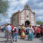 La Romería de la Virgen de la Soledad y la Ruta MTB 'El Gallardo' completan los días previos a San Isidro