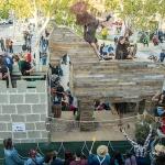 La Peña 'El Muro' se alza con el triunfo en el Concurso de Carrozas de Marchamalo