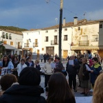 La plantación del mayo y sus cánticos cierran el brillante 'Abril Cultural' 2018 de Pareja