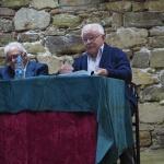 Manuel Calvo presentó en Sigüenza su libro 'De Colegial a maestro'