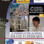 Este fin de semana en Sigüenza se hablará del Patrimonio Cultural