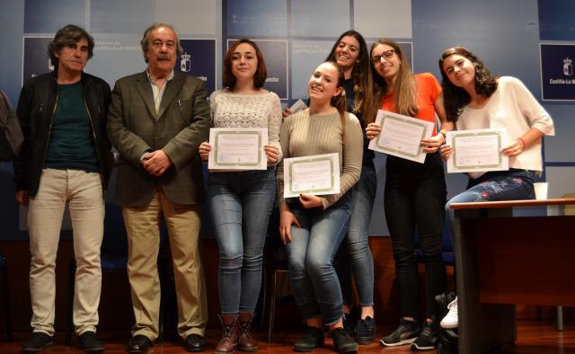 Los alumnos galardonados