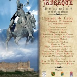 Jadraque celebra este sábado la VI Jornada Cidiana con la Cena y Hoguera de San Juan