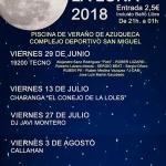 La música local, protagonista de los 'Viernes a la Luna' de este verano en la piscina de Azuqueca