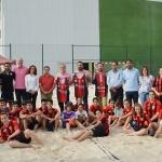 Palletways Verallia Azuqueca, campeón de la Copa de España de Balonmano Playa