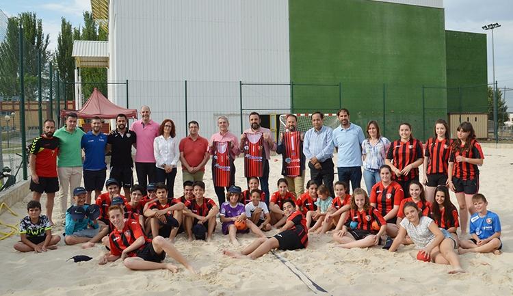 Foto de archivo de la presentación de la sección Playa del CDBM Azuqueca el año pasado. Fotografía: Álvaro Díaz Villamil / Ayuntamiento de Azuqueca