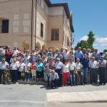 Yebra acogió ayer el XXVIII Campeonato Provincial de Bolos Billa, organizado por la Diputación y la Federación de Jubilados