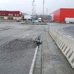 El Ayuntamiento encarga la reparación del blandón de la conexión entre el Polígono 1 y el SI-20