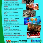 Durante el verano, cine familiar en Cabanillas del Campo