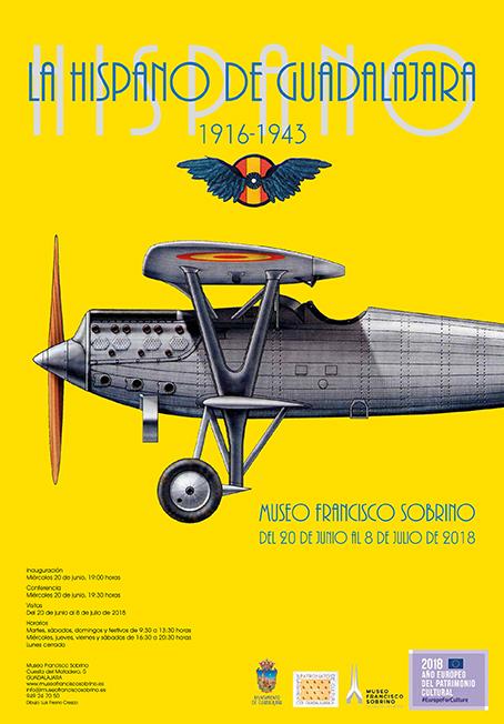 La historia de la Hispano de Guadalajara (1916-1943), en el Museo Francisco Sobrino