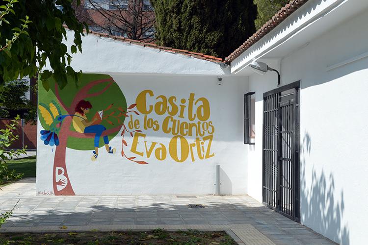Imagen de archivo de la Casita de los Cuentos Eva Ortiz. Fotografía: Álvaro Díaz Villamil / Ayuntamiento de Azuqueca