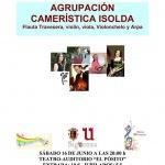 Este sábado en Sigüenza, concierto a cargo de la Agrupación Camerística Isolda
