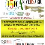 Concierto de profesores de la Escuela de Música de Brihuega