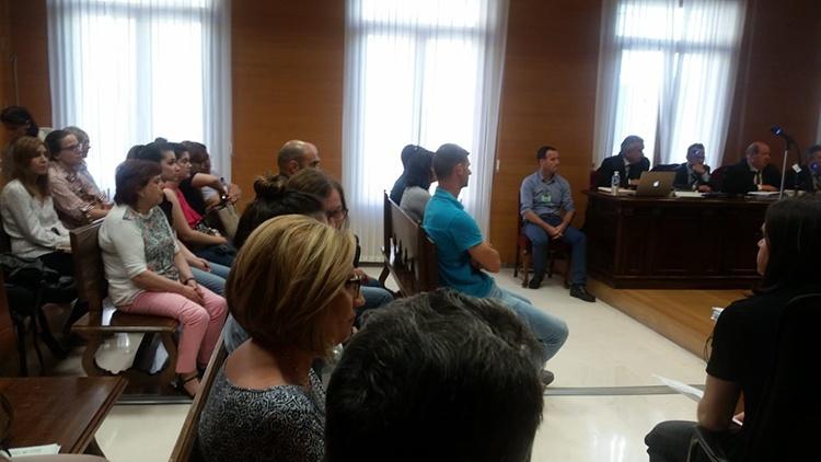 Un momento del juicio celebrado en la Audiencia Provincial