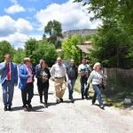 La Consejera de Fomento ha anunciado que las obras de la carretera de Peralejos de las Truchas saldrán a licitación el próximo mes
