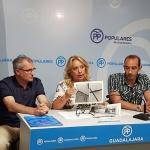 """Hormaechea asegura que """"Azuqueca sufre las consecuencias del abandono y la desidia del gobierno socialista"""""""