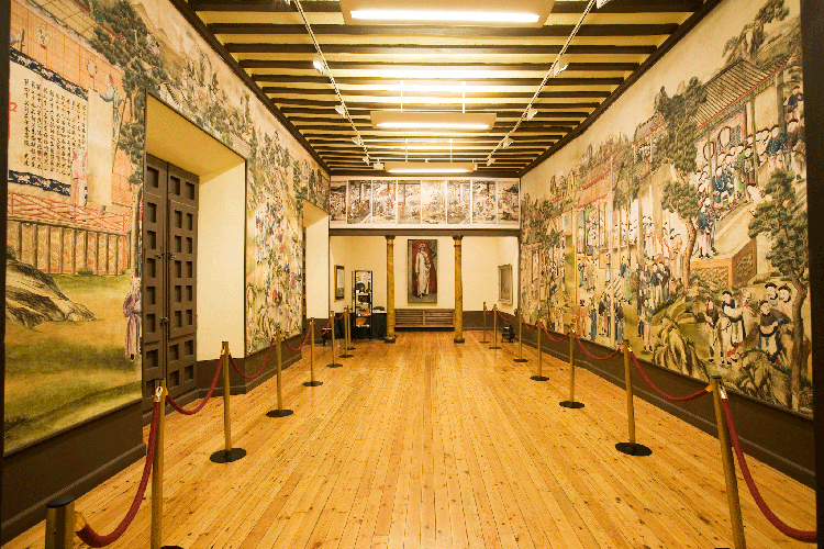 El Salón Chino de la Cotilla del Palacio de la Cotilla acoge los Monucuentos