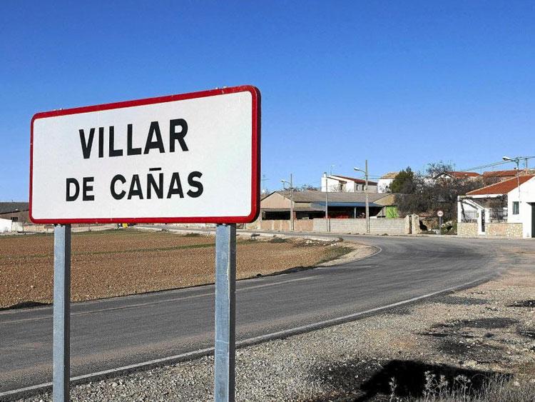 Villar de Cañas, localidad conquense donde se está contruyendo el ATC // Foto El Mundo