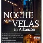 Este sábado, Arbancón se ilumina con velas