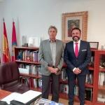 Reunión de trabajo entre el alcalde de Azuqueca y el rector de la Universidad de Alcalá de Henares