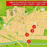 Arrancan las obras de renovación de colectores de la zona este de Cabanillas